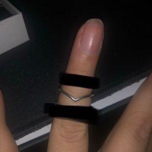 Pandora Wishbone Ring